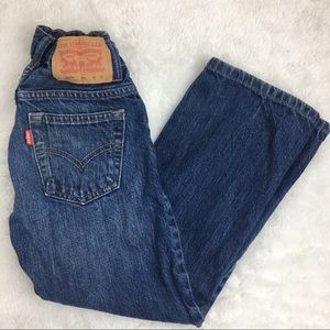 LEVIS 8 Boys Denim Jeans 8 Regular 24x22